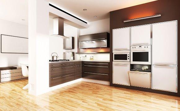 Cozinha com móveis planejados. (Foto: Reprodução/d-sense)