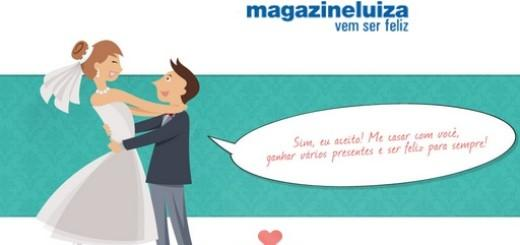 Magazine Luiza e lista de casamento (Foto: Divulgação Magazine Luiza)