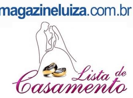 Listagem de casamento Magazine Luiza pelo site (Foto: Divulgação)