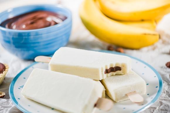 Banana com creme de avelã. (Foto Ilustrativa)