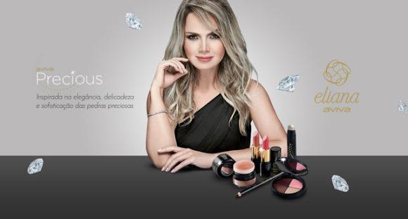 A Eliana lançou uma nova linha de maquiagem em parceria com a Jequiti. (Foto: Reprodução/Jequiti)