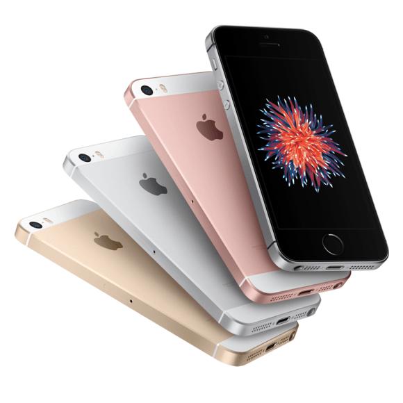 O Iphone SE tem um tamanho mais compacto. (Foto: Reprodução/Clubbic)