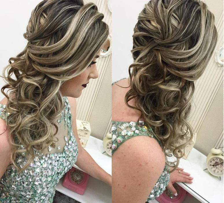 Penteados 2016 e 2017 para casamento, formatura e festas mais de 100 penteados perfeitos (Foto: Divulgação)