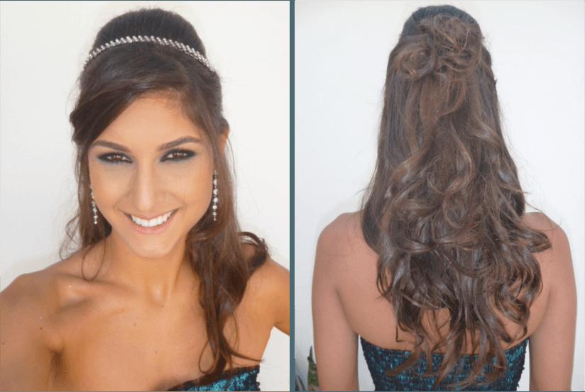 Esse penteado combina tanto par casamentos, quanto para formaturas (Foto: Divulgação)