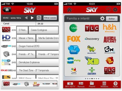 Confira os canais disponíveis de acordo com o pacote que você escolheu (Foto: Exame/Abril)