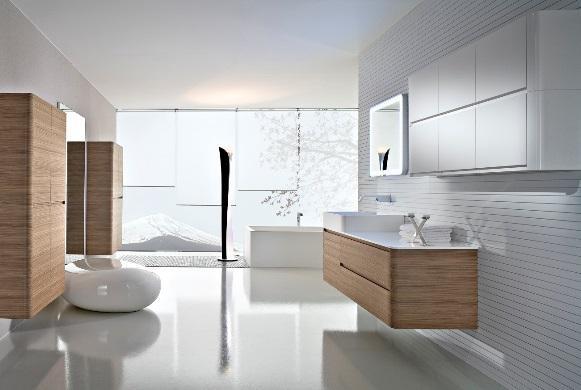 Sala de banho moderna. (Foto: Reprodução/Godfatherstyle)