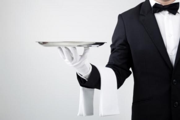 No Senac, há oportunidades para o cargo de garçom. (Foto Ilustrativa)