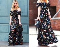 Tendências Maxi Dress 2016 looks e fotos