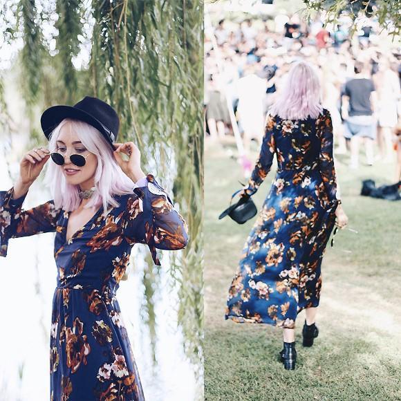 Maxi Dress moderno. (Foto: Reprodução/Lookbook.nu)