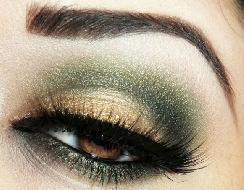 Tendências Moda e maquiagem verde militar 2016