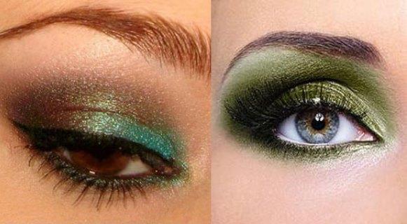 A sombra verde deixa o look mais exótico. (Foto: Reprodução/Girlshue)