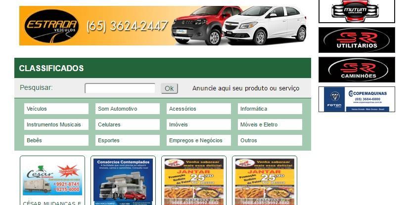 Confira os preços e anúncios do site (Foto: Reprodução/Usado Fácil)