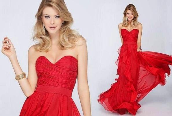 Vestido vermelho para festa (Foto: Reprodução/Style)