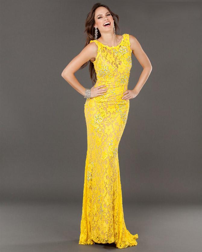 Modelos de vestido de renda 1