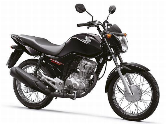 Honda CG 160 (Foto: Divulgação Honda)