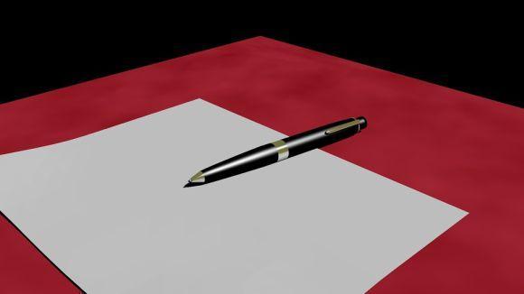 Depois de revisar o texto, passe-o a limpo, não se esquecendo do limite de linhas (Foto Ilustrativa)