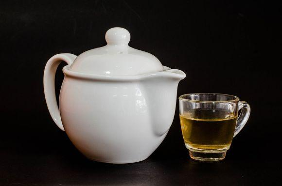 Chá verde seca barriga (Foto Ilustrativa)