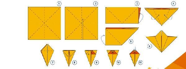 Bandeirinhas de papel são muito fáceis de fazer (Foto: Divulgação)