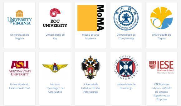A plataforma Coursera tem parceria com mais de 100 universidades de todo o mundo (Foto: Reprodução Coursera)