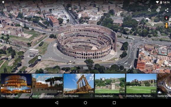 O Google Earth é uma ótima pedida para quem gosta de mapas online (Foto: Reprodução Google Earth)