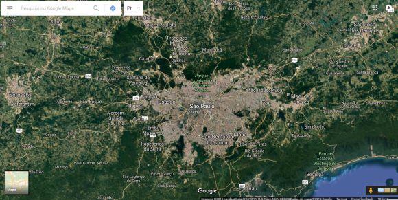 O Google Maps está presente em todos os smartphones Android (Foto: Reprodução Google Maps)