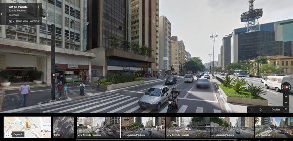 O Street View é um recurso muito interessante do serviço de mapas do Google (Foto: Reprodução Google Maps)