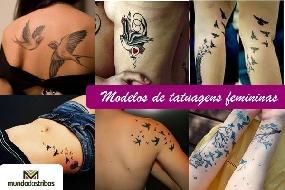 Tatuagens Femininas: 196 modelos maravilhosos para você escolher!