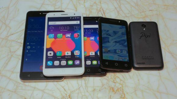 Nova linha de smartphones PIXI 4 da Alcatel (Foto: Divulgação Alcatel)
