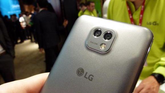 O novo LG X Cam conta com duas câmeras traseiras (Foto: Divulgação LG)