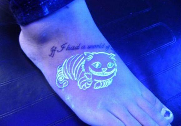 Essa tatuagem também é ótima para fazer nos pés (Foto Ilustrativa)