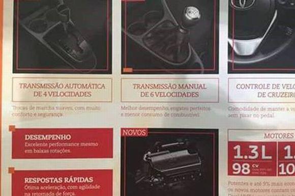 Os folders trazem detalhes da mecânica e novos acessórios do compacto japonês (Foto: Reprodução internet)