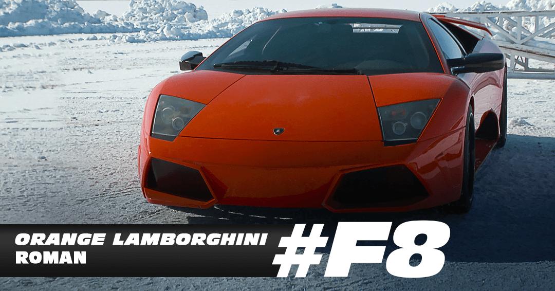 Orange Lamborghini Roman. (Foto: Reprodução/Uol)
