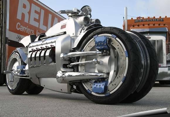 A surpreendente Dodge Tomahawk. (Foto: Reprodução/Bikersnews)