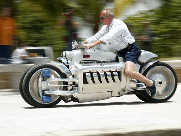 Dodge Tomahawk, a moto mais cara do mundo. (Foto: Reprodução/Bikersnews)