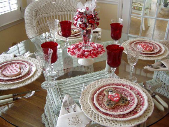 Jantar romântico vintage (Foto Ilustrativa)