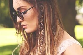 Anéis no cabelo como colocar passo a passo
