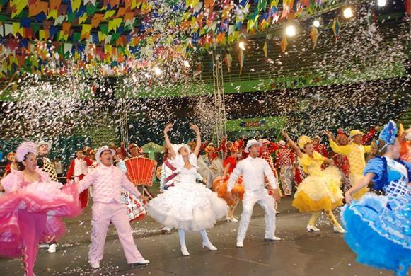 Caruaru tem uma grande festa junina. (Foto: Reprodução/Youtube)