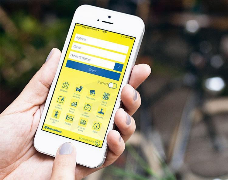 Atualizar boleto do Banco do Brasil por meio do celular é outra opção (Foto: Divulgação)
