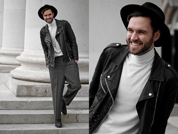 A Biker Jacket é uma escolha super estilosa para o seu look. (Foto: Reproduação/Lookbook.nu)