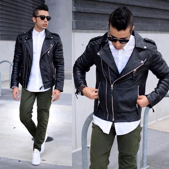 A jaqueta de couro preta é o modelo mais procurado. (Foto: Reproduação/Lookbook.nu)