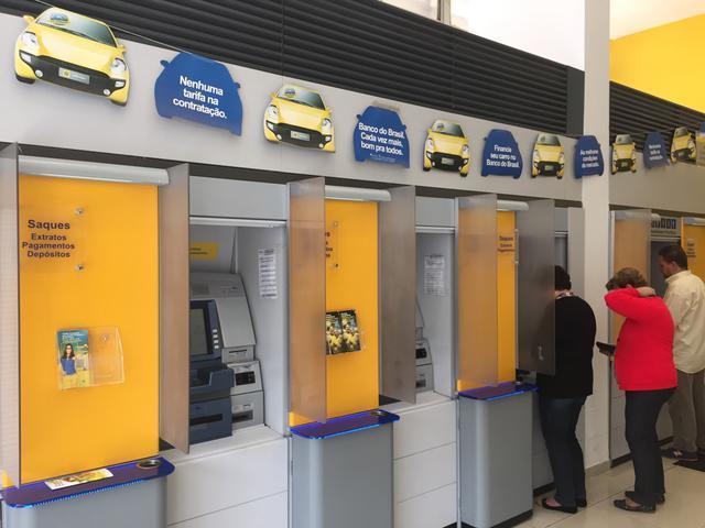 Emita o seu boleto bancário no Banco do Brasil nos caixas de auto-atendimento (Foto: Divulgação)