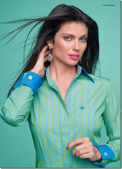 Camisa Dudalina verde (Foto: Divulgação)