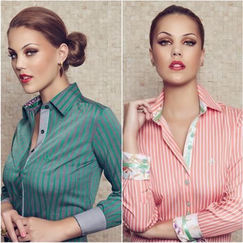 Camisa Dudalina de duas cores (Foto: Divulgação)