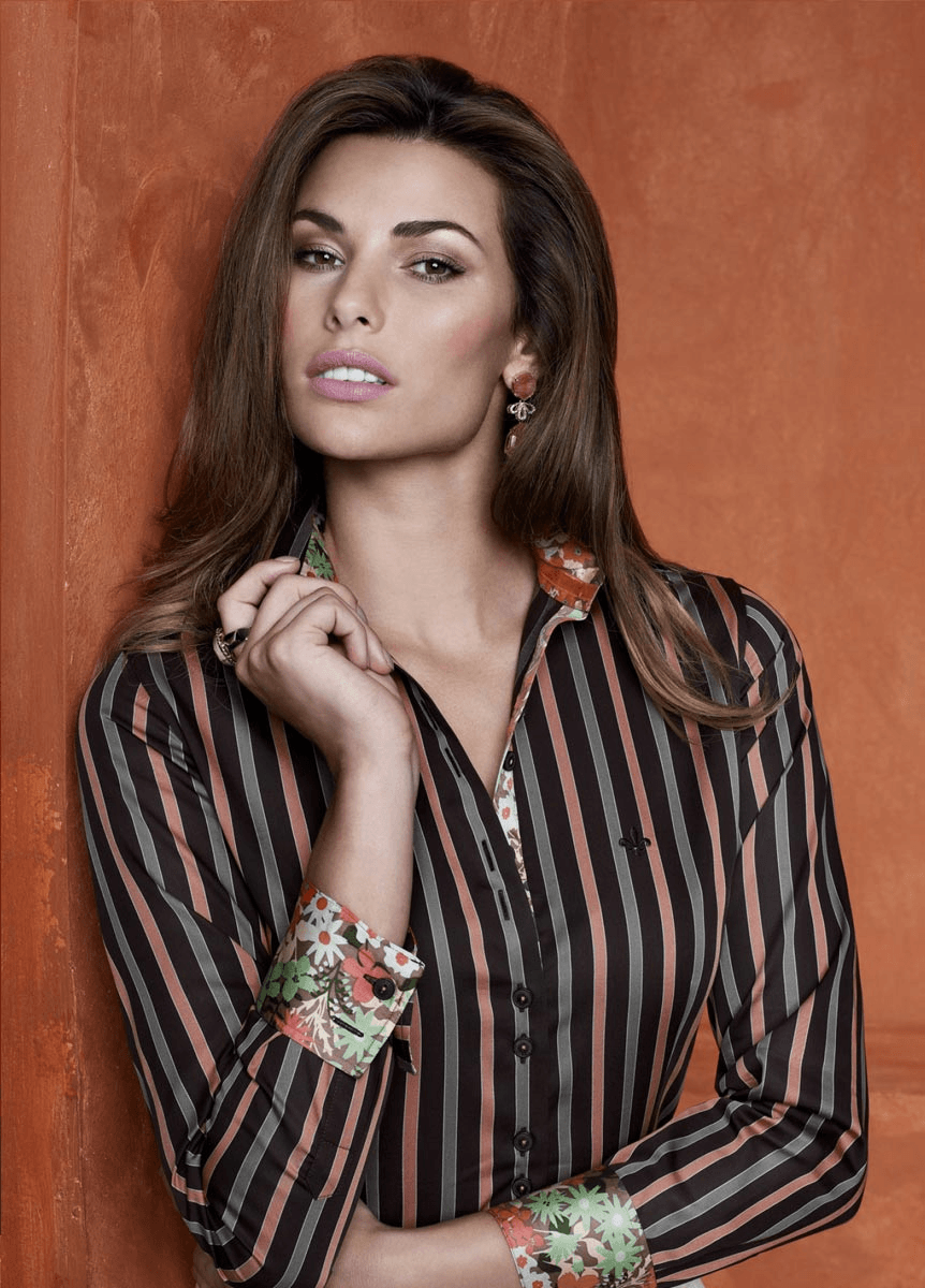 Cada coleção nova da Dudalina as camisas femininas aparecem mais lindas (Foto: Divulgação)