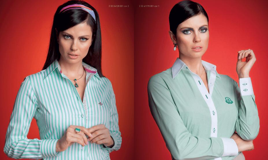 As camisas Dudalina femininas tem decotes incríveis (Foto: Divulgação)