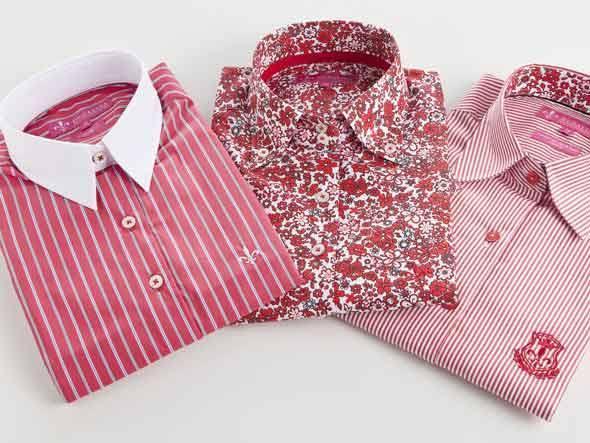 A marca também tem camisas masculinas (Foto: Ilustração)