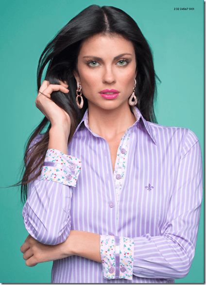 Camisas femininas Dudalina (Foto: Divulgação)