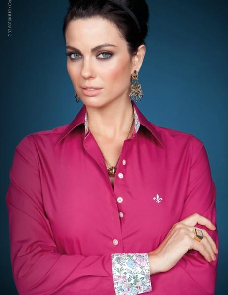 Camisa Dudalina pink (Foto: Divulgação)