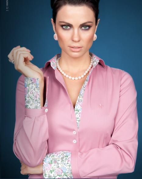 Camisa rosa com estampas (Foto: Divulgação)