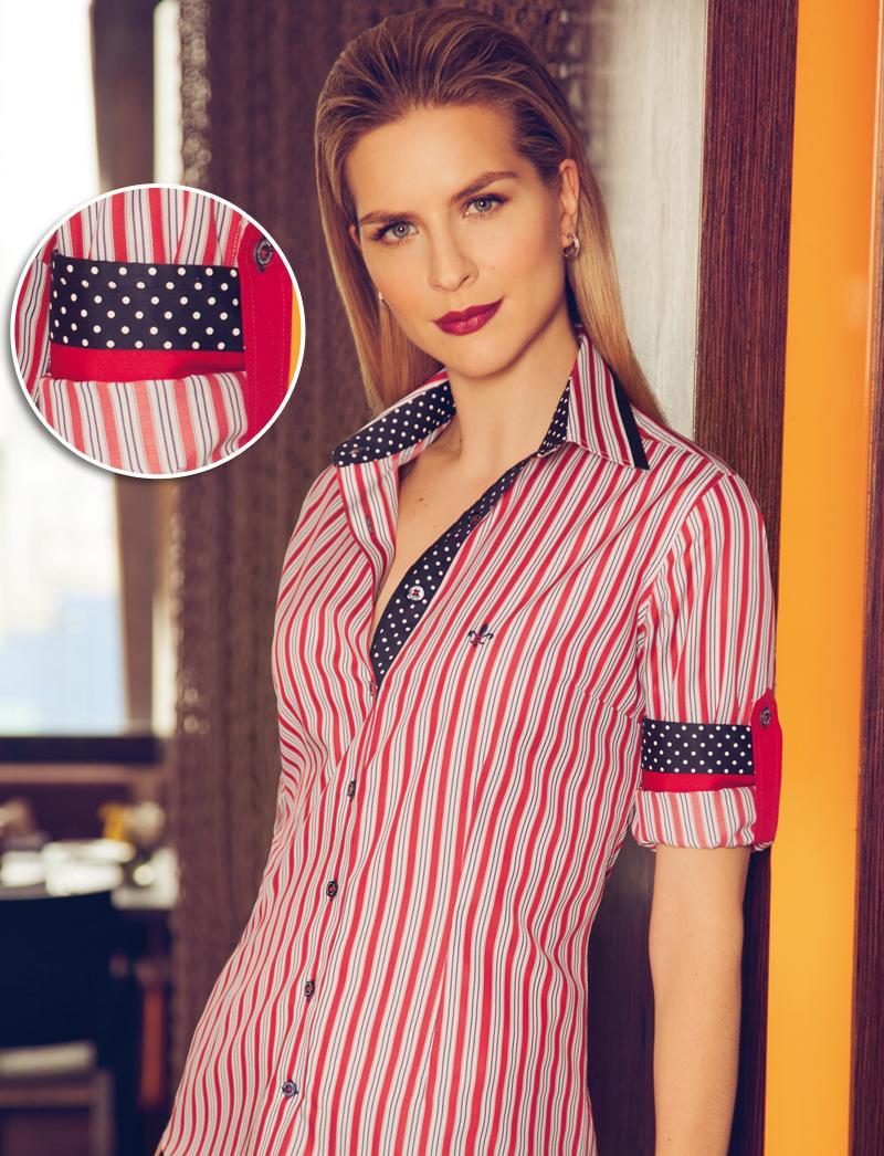 Camisa Dudalina com estampa dos Estados Unidos (Foto: Divulgação)